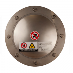 Explosion panel dome-shaped vacuum round - product image 1