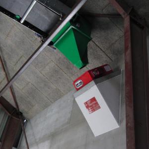 Brandspjæld til materialetransport: Model FIRESAFE R90 - Monteret 2