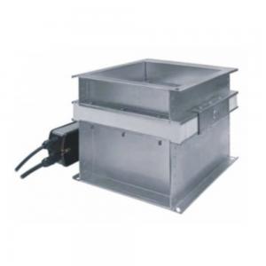 Enkeltblads cut-off brandspjæld til multi-zone ventilation: Model FID S/V p/P