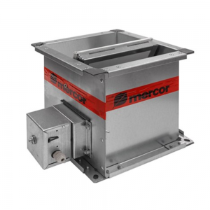 Enkeltblads lavmodstands cut-off brandspjæld til komfortventilation: Model S/S c/P - Produktbillede 3