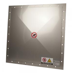 Eksplosionsmembran - Flade: Firkant og Rektangel - Produktbillede