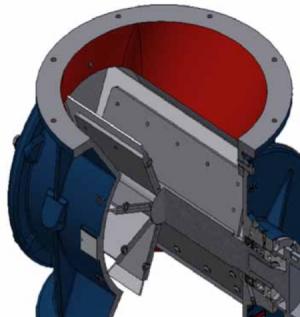 Rotorsluse, Type HT-450: Profil - Safevent