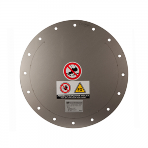 Explosion panel flat and round - product image 1